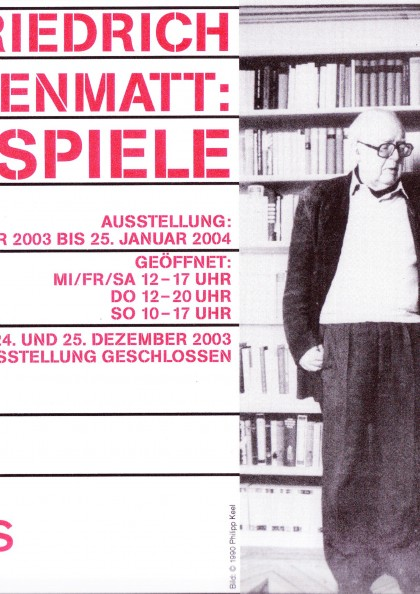 Vorschaubild für Friedrich Dürrenmatt: Endspiele