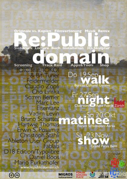 Vorschaubild für Re:Public Domain Matinée